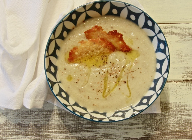 Truffled Sunchoke Cauli Soup