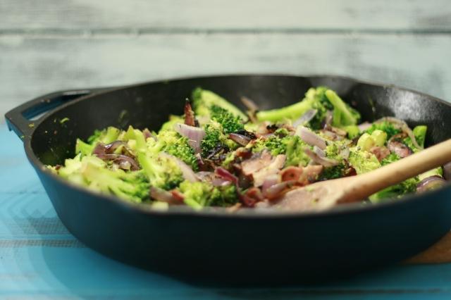 Broccoli Bacon Skillet